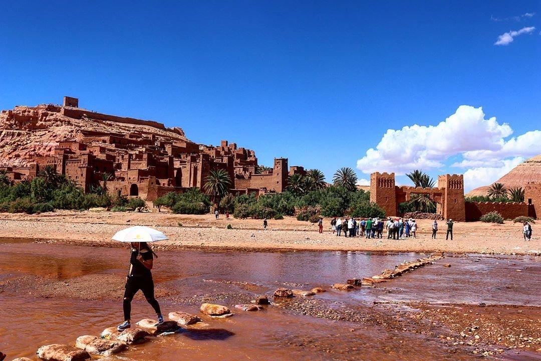 Kasbah ait ben haddou , 4 days from marrakech to merzouga marrakech desert tours merzouga tour voyager a merzouga