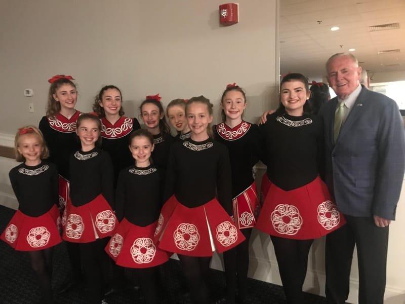O'SHEA CHAPLIN IRISH DANCERS