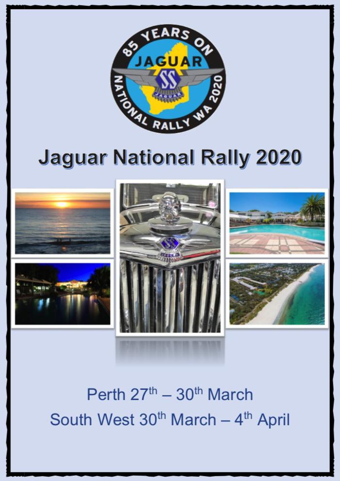 51st Jaguar National Rally in Western Australia