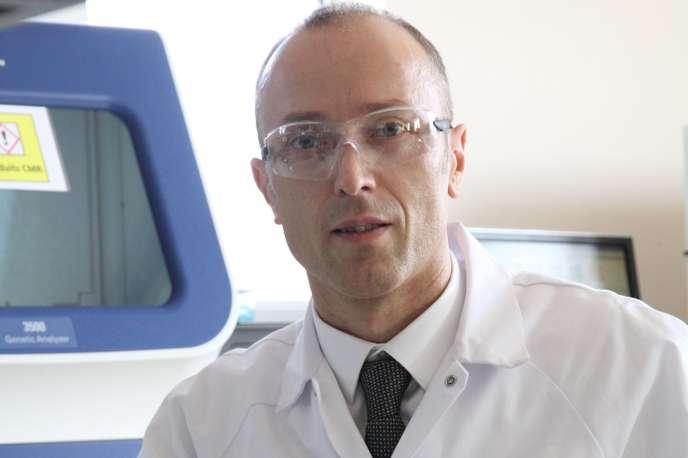 Philippe Horvath, chercheur au centre de recherche de la multinationale de l'agroalimentaire et de la chimie DuPont.