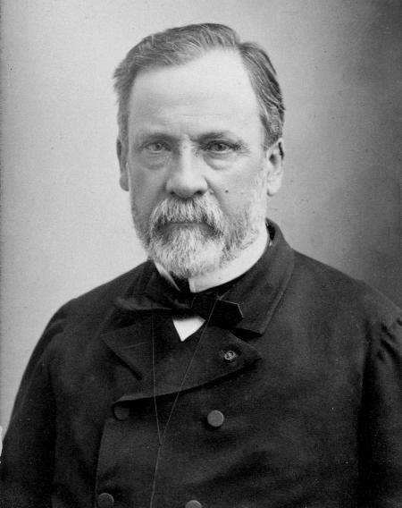 Louis Pasteur (1878, portrait par Paul Nadar)