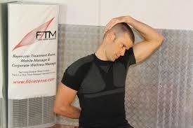 Image result for Neck and scalene stretch, pictures