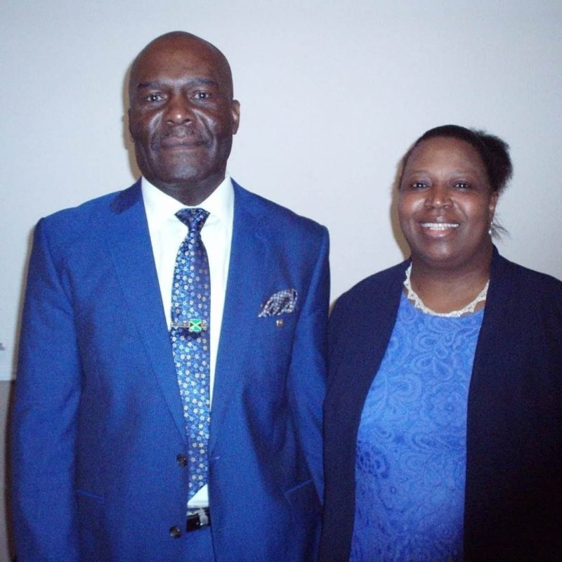 Pastor Elizabeth Brown and Deacon William Brown Founders Of The New Restored Pentecostal church