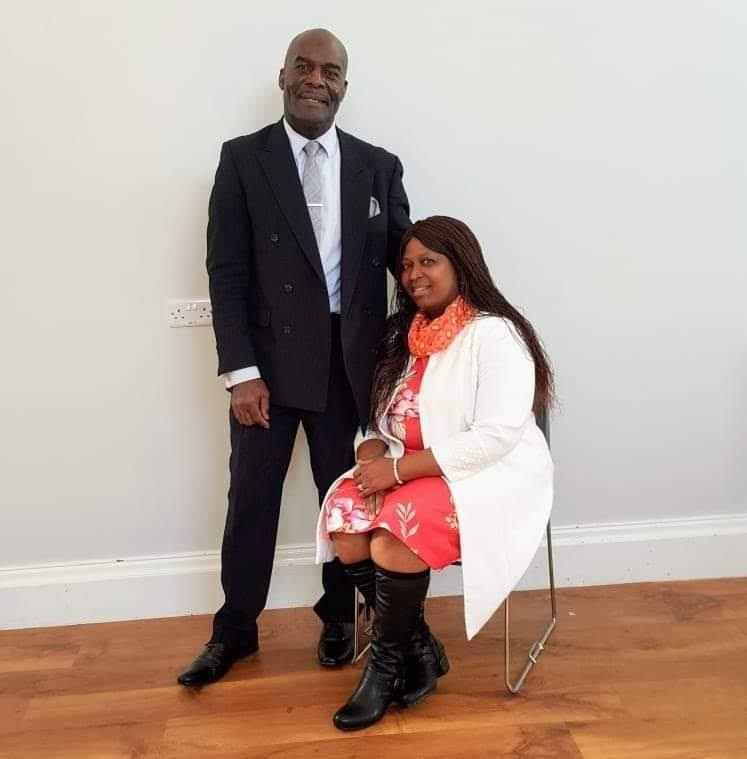 Pastor Elizabeth Brown and Deacon William Brown