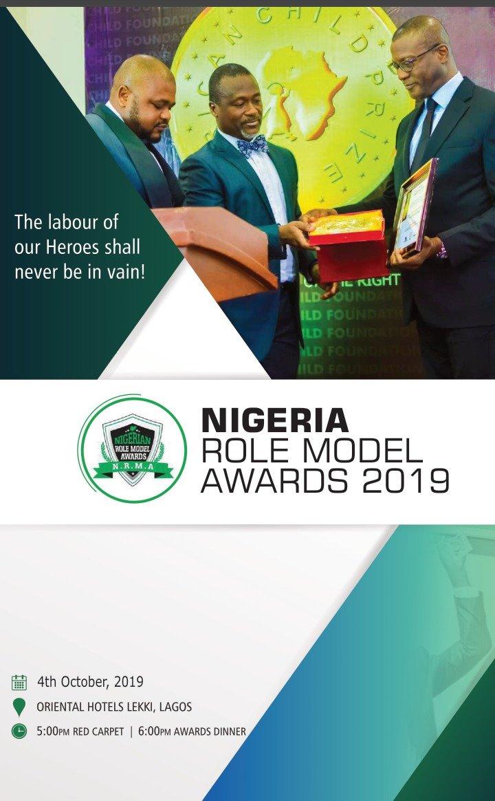 Nigerian Role Model Awards  NRMA 2019