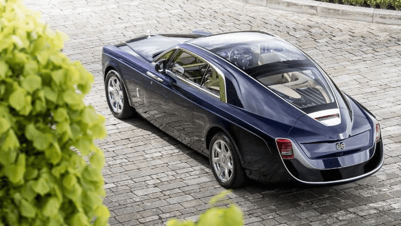 Most Expensive Cars - Rolls Royce Sweptail