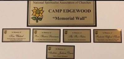 Memorial Plaques for Loved ones