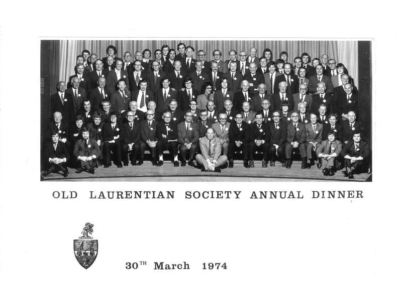 Annual Dinner 1974