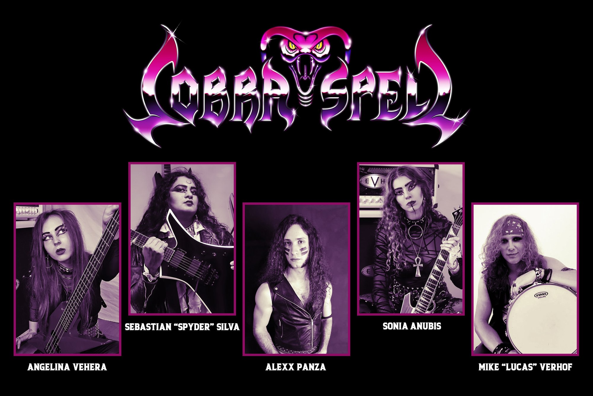 Interview with COBRA SPELL - FILTHY DOGS OF METAL