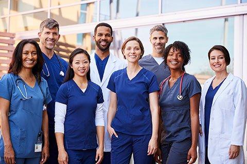 COVID-19 Healthcare & Customer Service Support Staff