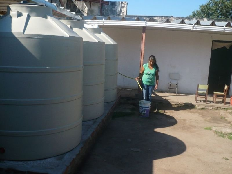 Water Harvesting Tanks