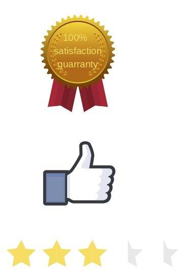 100 % Zufriedenheitsgarantie