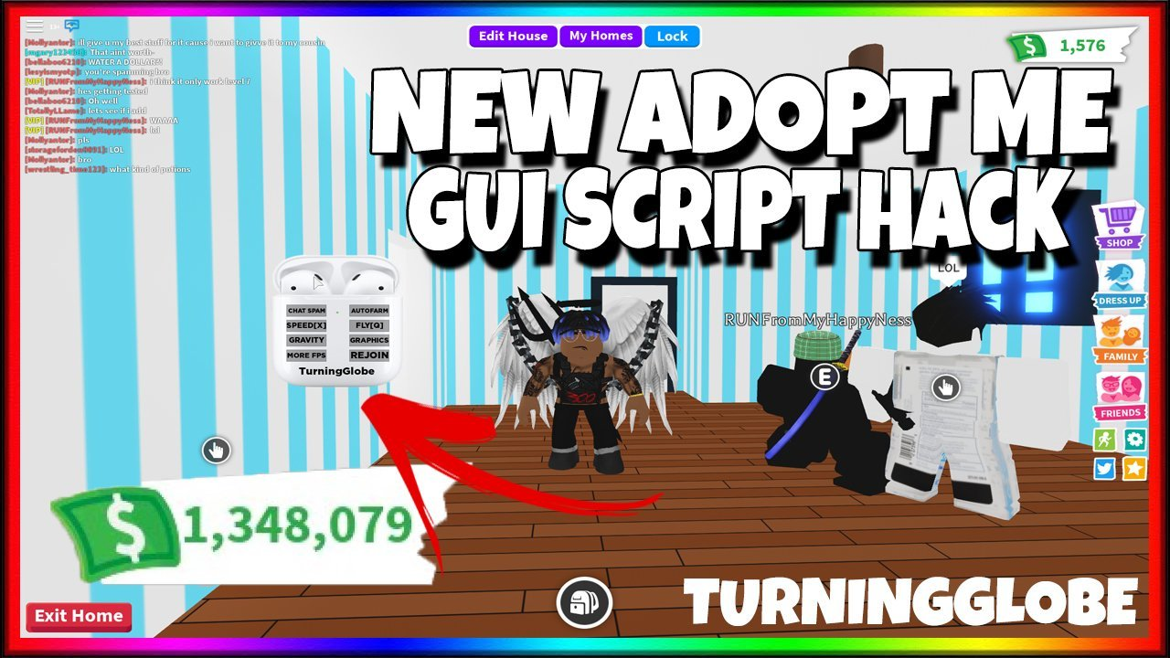 Roblox Adopt Me Hacked Account Scripts Turingglobe S Scripts