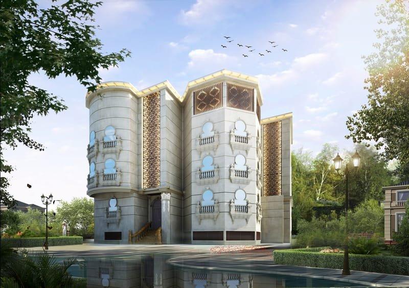 تصميم الواجهات المعمارية