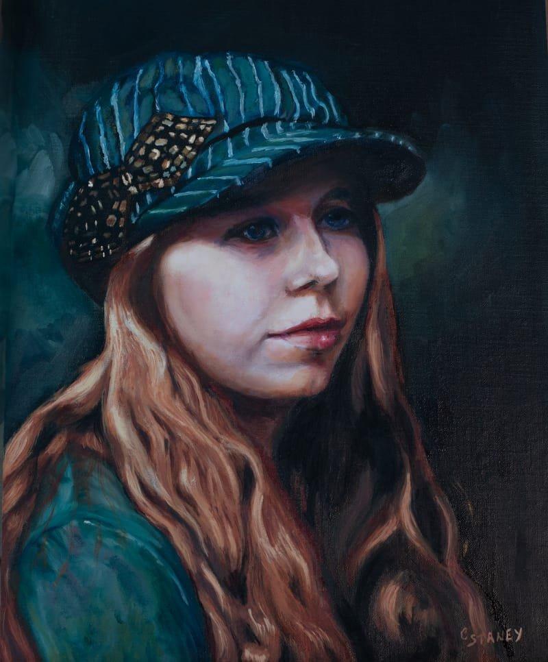Portrait of Vlada after Juan Cantavella