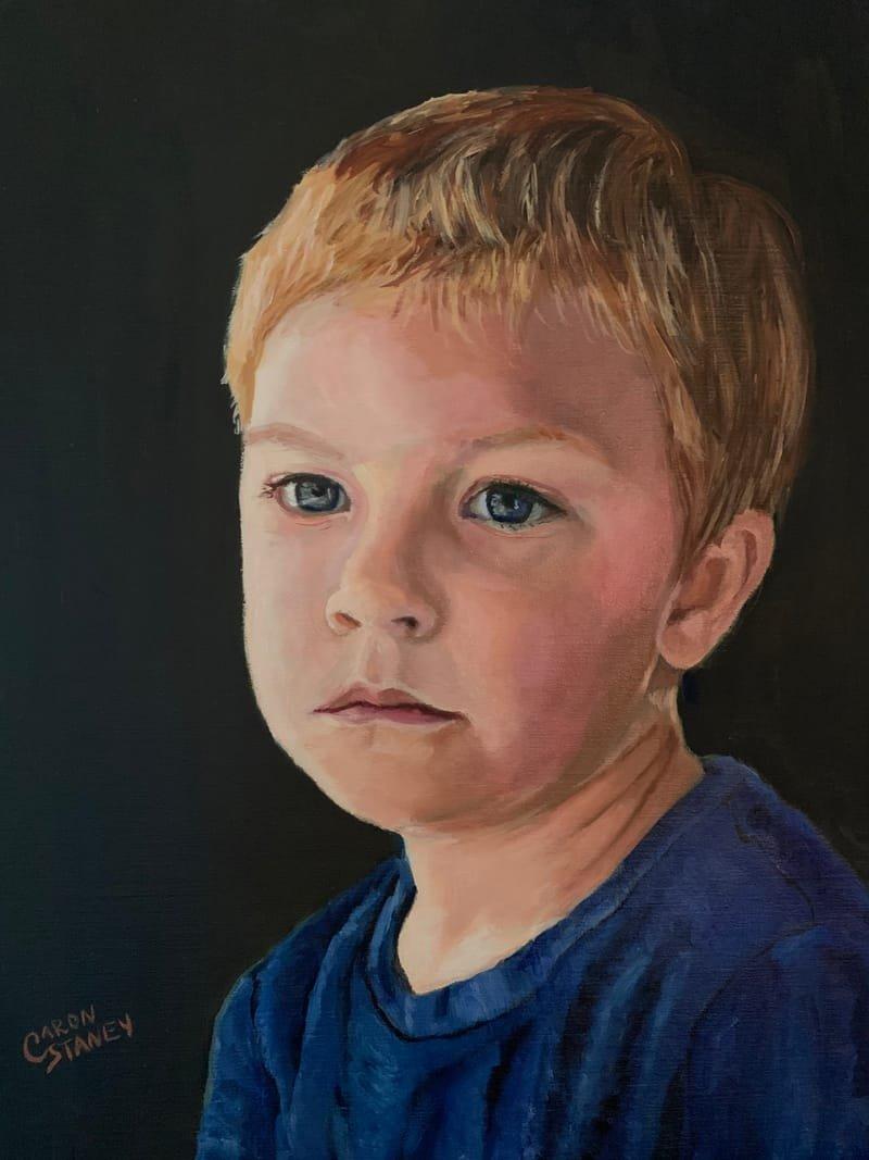 Portrait of Case