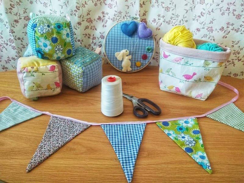 קורס עיצוב ותפירת מוצרי תינוקות וילדים