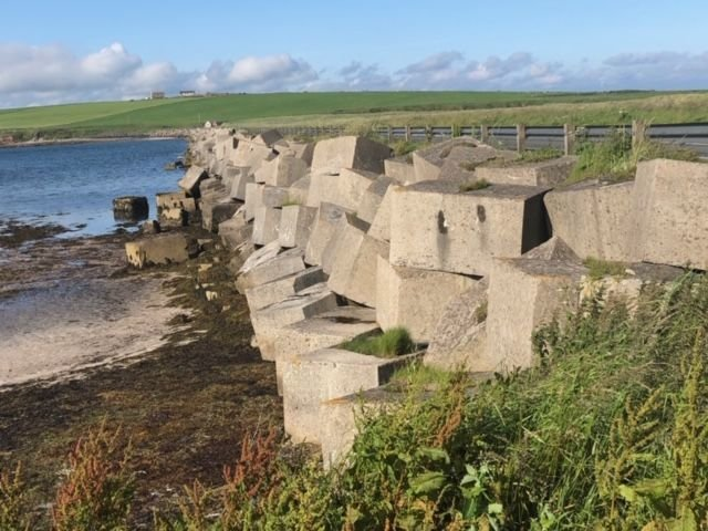 Churchill Barriers on Orkney