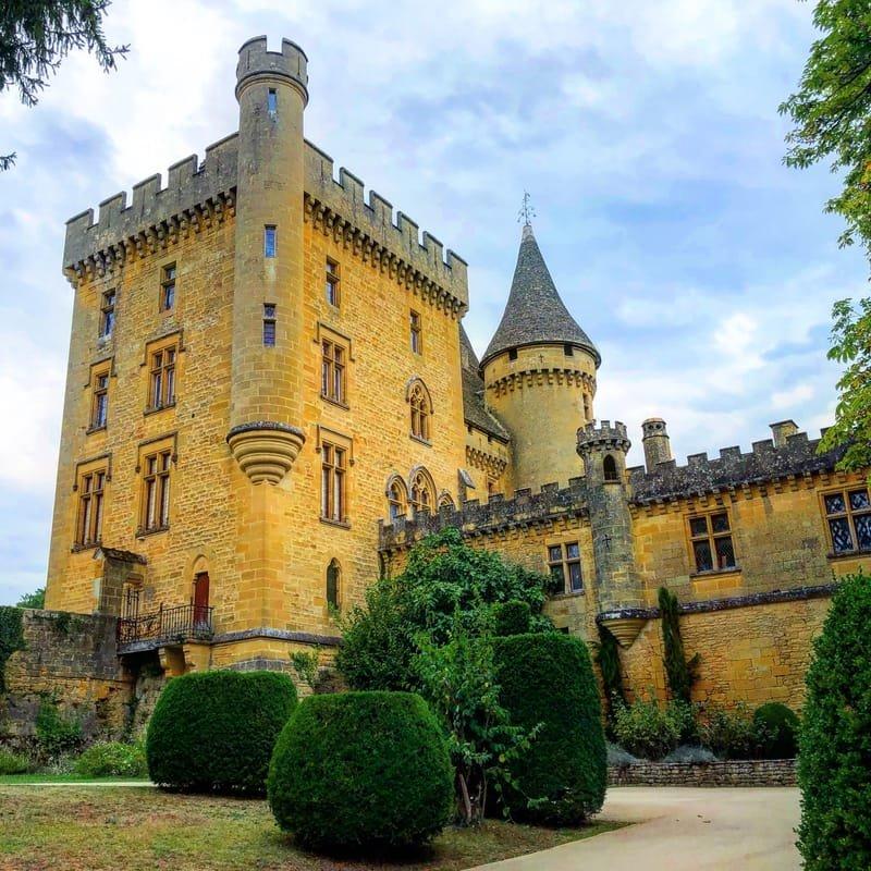 Castle Puymartin in Dordogne, France