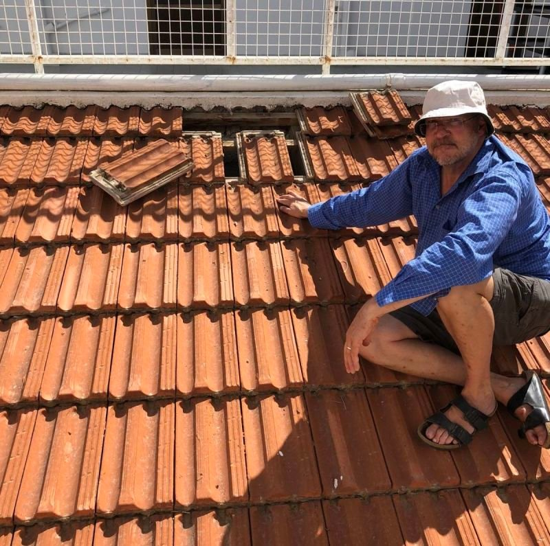 Peter, the roofer