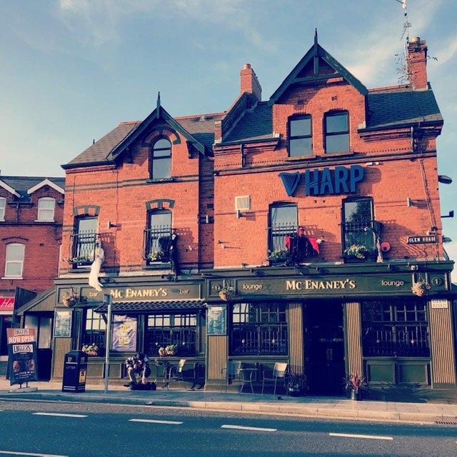 West Belfast pub. We did not go in...