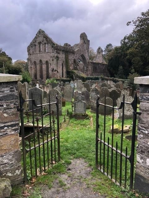 Greyabbey ruin in Newtownards