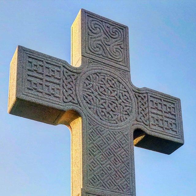 Patrick's Cross reproduction in Downpatrick