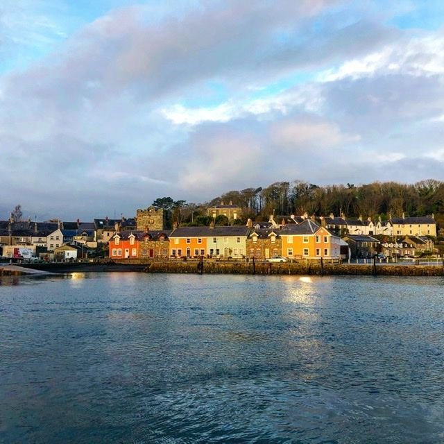 View of Strangford from the ferry