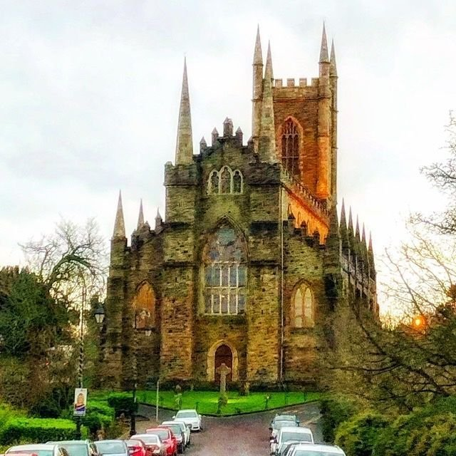Lovely Downpatrick Cathedral