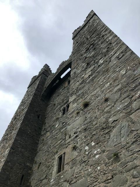 Audley's Castle up close and personal