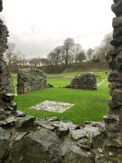 inch Abbey near Downpatrick