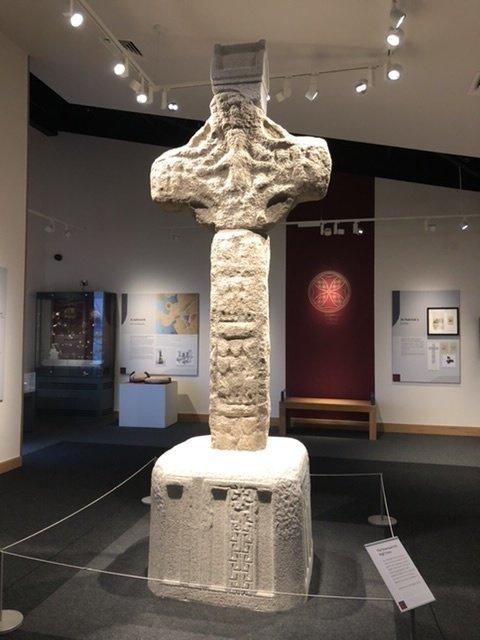 The original St. Patrick's Cross at Downpatrick Museum
