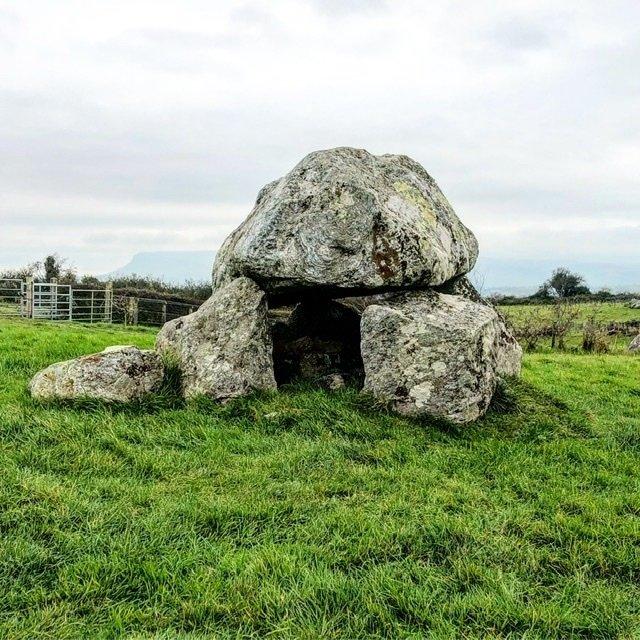 Dolmen chamber at Carrowmore