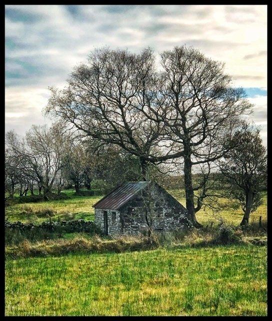 Abandoned house at Moneygashel