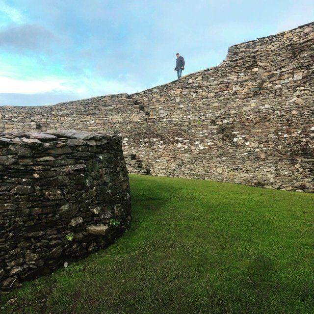 another photo of the fabulous Cahergall Ring Fort