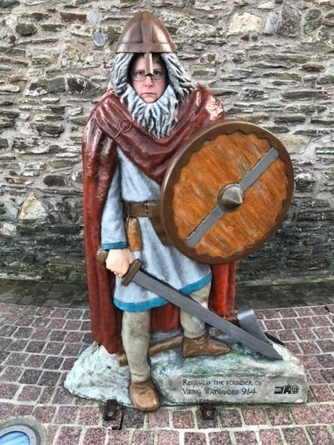 Me in Medieval costume in Waterford