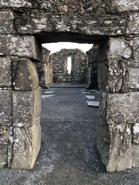 Glendalough church ruin