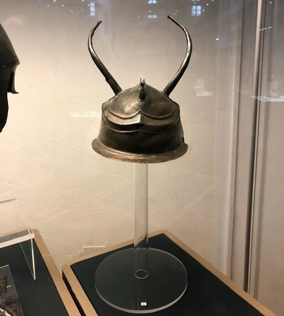 A fascinating helm - looks like a fantasy prop