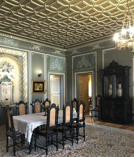 Fancy room in the Plovdiv museum