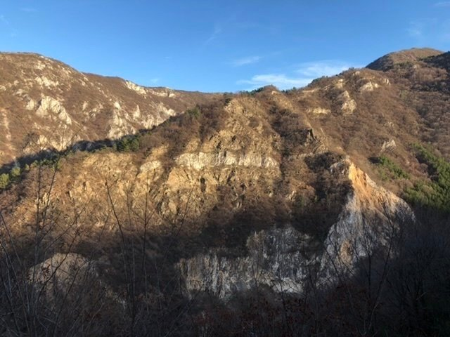Mountains near Asen