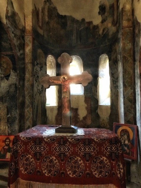 Cross at the Asen Fortress chapel