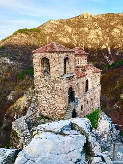 The church at Asen's Fortress