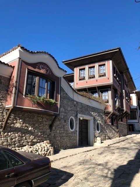 Pretty street in Plovdiv
