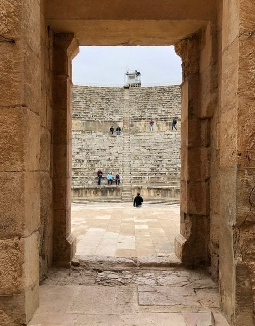 Jerash Amphitheater entrance