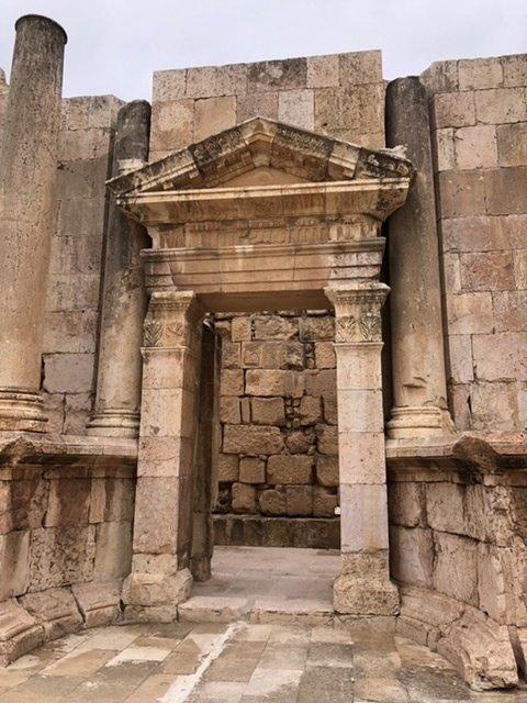 Jerash doorway