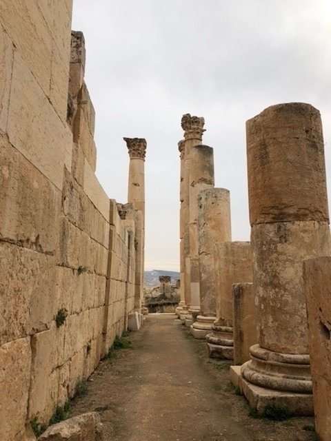 More columns at Jerash