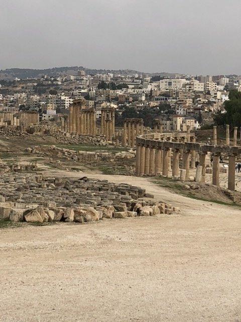 View of Jerash