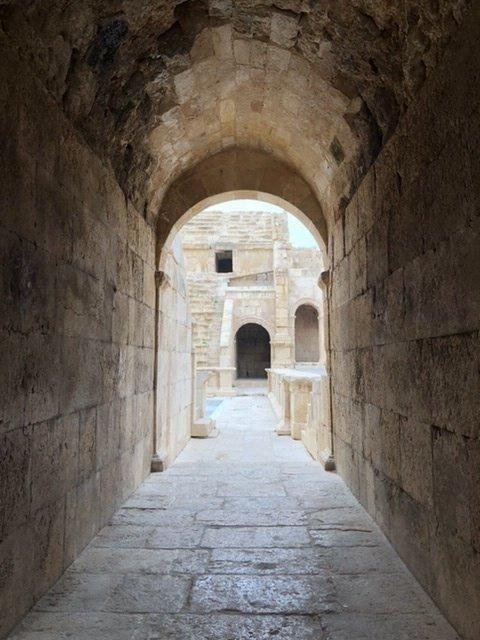 The light at Jerash