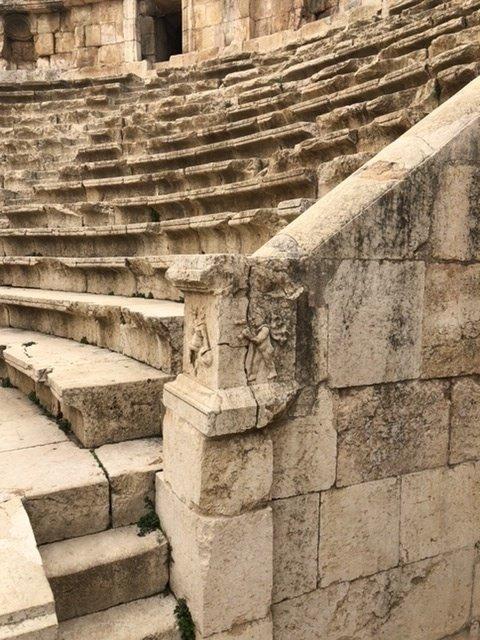 Amphitheater detail