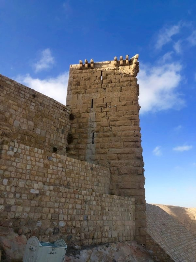 Shobak Castle tower